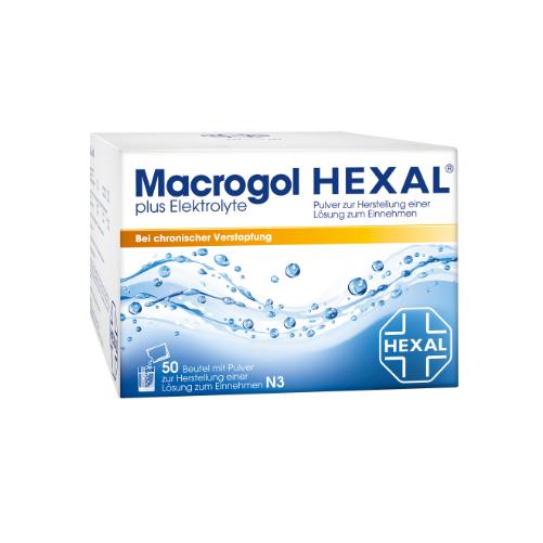 MACROGOL HEXAL plus Elektrolyte Plv. z. H. e. L. z. E.