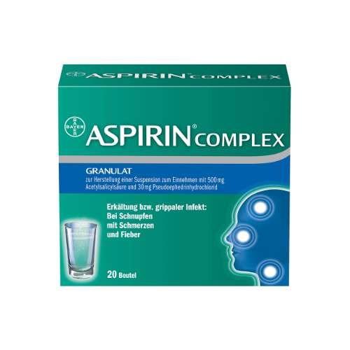 ASPIRIN COMPLEX Btl. m. Gran. z. Herst. e. Susp. z. Einn.